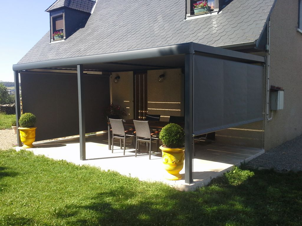 pergola bioclimatique aveyron sep pons. Black Bedroom Furniture Sets. Home Design Ideas